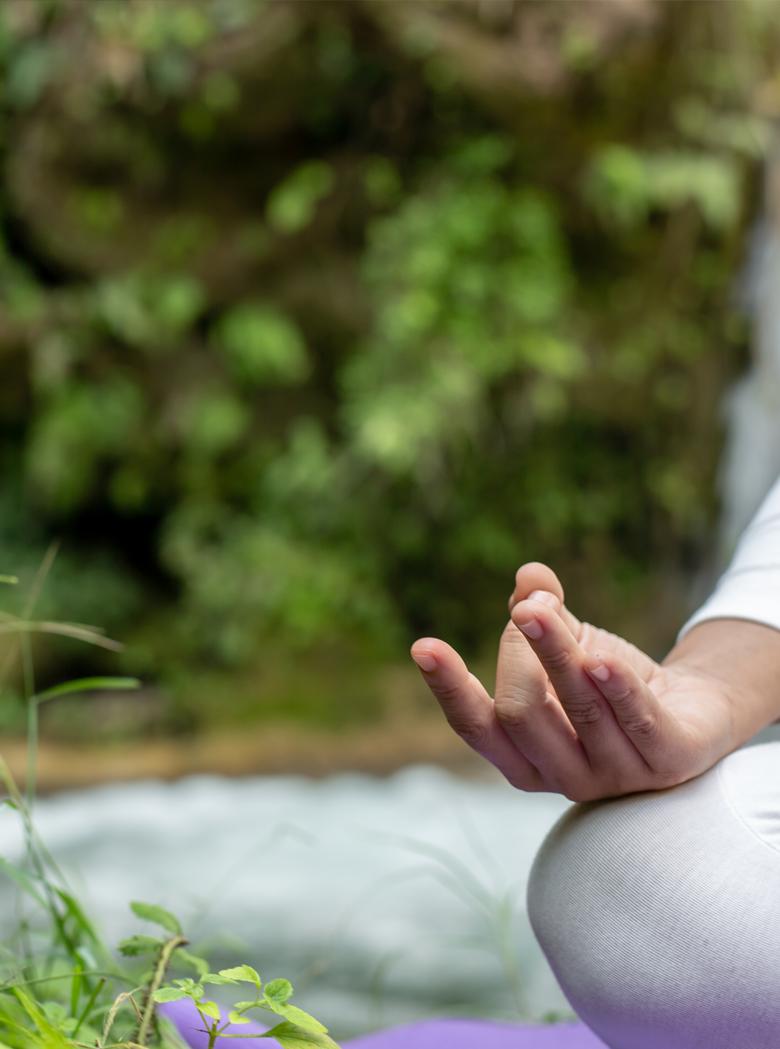 Fasten mit Yoga